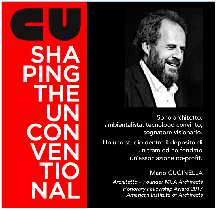 SHAPING THE UNCONVENTIONAL – MAURO PANIGO incontra MARIO CUCINELLA