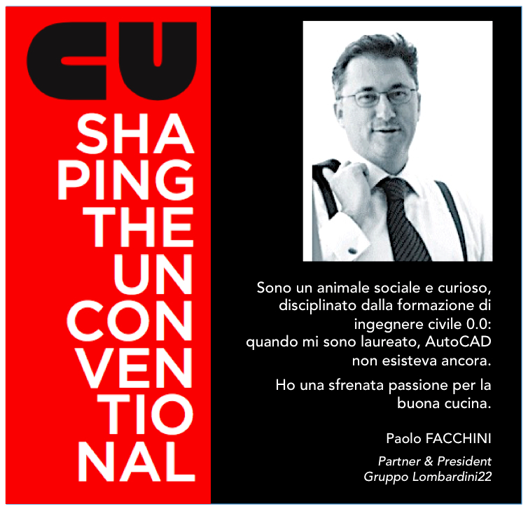 SHAPING THE UNCONVENTIONAL – MAURO PANIGO INCONTRA PAOLO FACCHINI