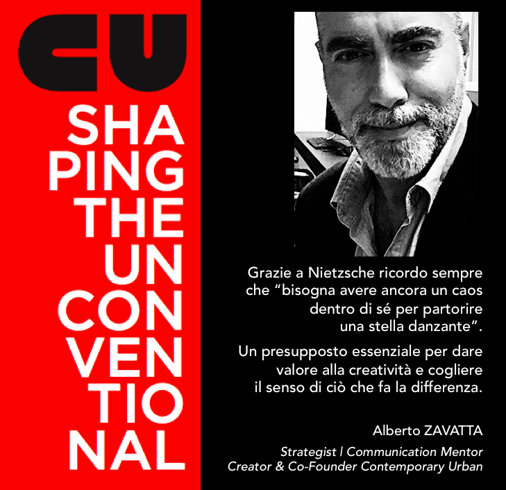 SHAPING THE UNCONVENTIONAL – FRANCO GADDONI incontra ALBERTO ZAVATTA