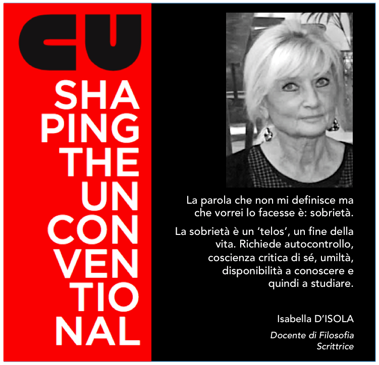 SHAPING THE UNCONVENTIONAL – ALBERTO ZAVATTA INCONTRA ISABELLA D'ISOLA
