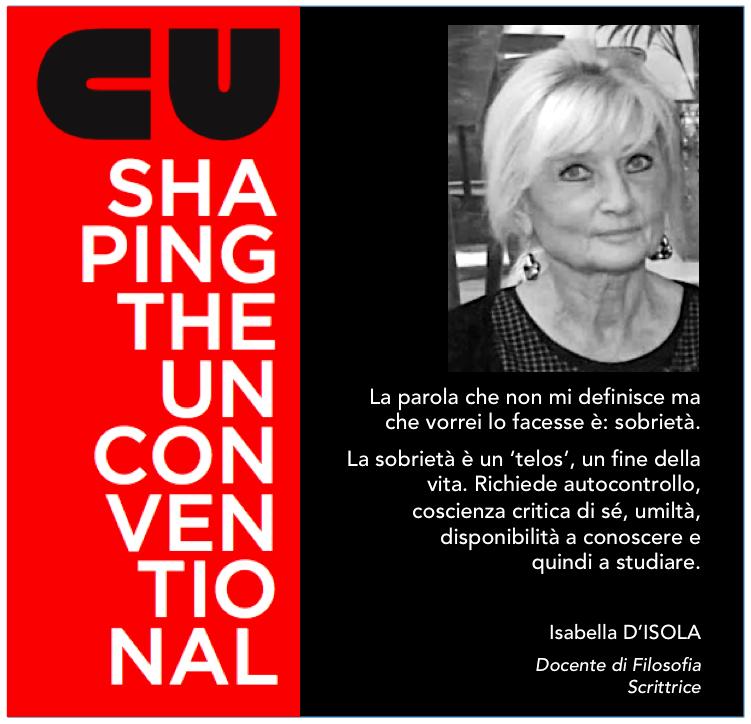 SHAPING THE UNCONVENTIONAL – ALBERTO ZAVATTA INCONTRA ISABELLA D'ISOLA