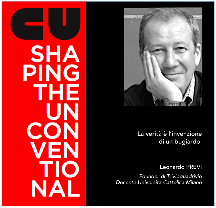 SHAPING THE UNCONVENTIONAL – MAURO PANIGO INCONTRA LEONARDO PREVI