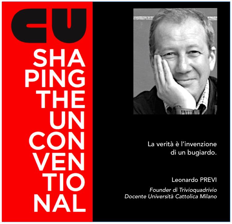 SHAPING THE UNCONVENTIONAL – MAURO PANIGO INCONTRA LEONARDO PREVI