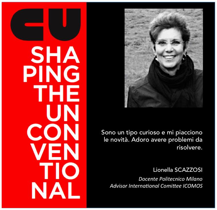 SHAPING THE UNCONVENTIONAL – MAURO PANIGO INCONTRA LIONELLA SCAZZOSI