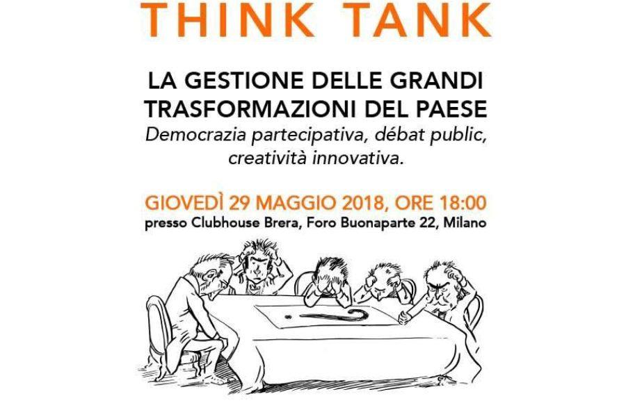 THINK TANK SUL DIBATTITO PUBBLICO E LA DEMOCRAZIA PARTECIPATIVA