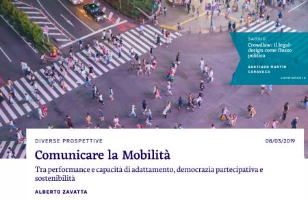 ALBERTO ZAVATTA PER FLOWS MODELLING MOBILITY. COMUNICARE LA MOBILITÀ