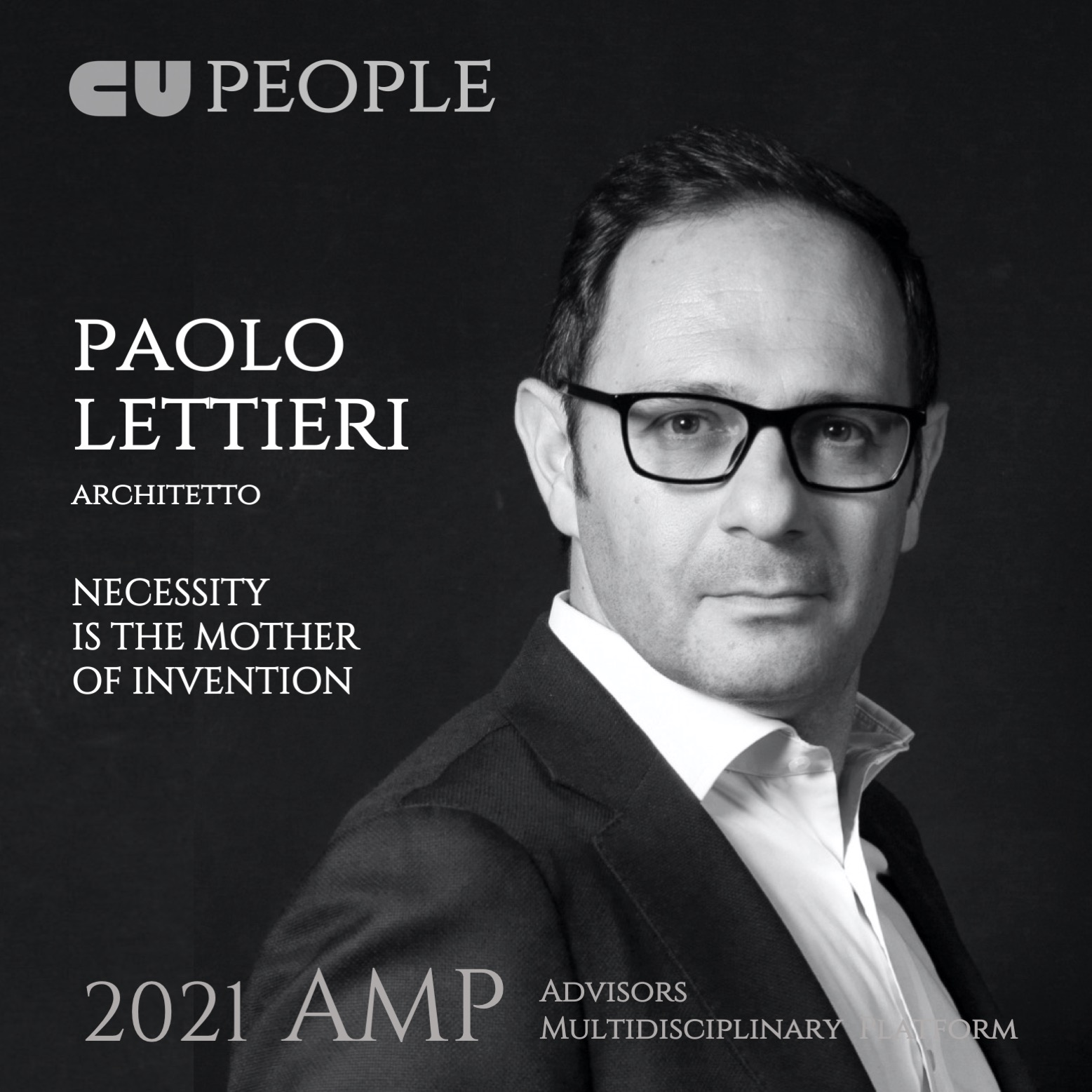 CU PEOPLE Advisors Multidisciplinary Platform_ PAOLO LETTIERI Architetto